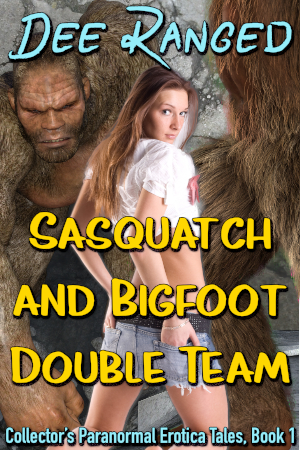 Sasquatch and Bigfoot Double Team